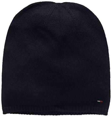 Tommy Hilfiger Thdm Sweaterknit Hat 19, Berretto Uomo, Blu (Navy Blazer 416), One Size (Taglia Produttore:OS)