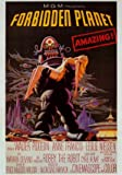 HUGE LAMINATED Forbidden Planet Cult B Movie one sheet promo POSTER