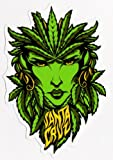 Santa Cruz Weed Goddess Skateboard Sticker - skunk cannabis marijuana hemp dope