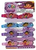 Dora the Explorer hair Barrettes ~ 8 pc Set