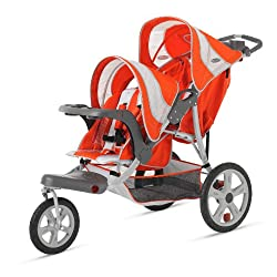 InStep Flight Double Tandem Stroller