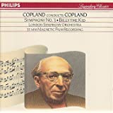 COPLAND CONDUCTS COPLAND : Symphony 3 / Billy the Kidby Copland