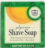 Van Der Hagen Glycerin Shave Soap, 2.5-Ounce Boxes (Pack of 12)