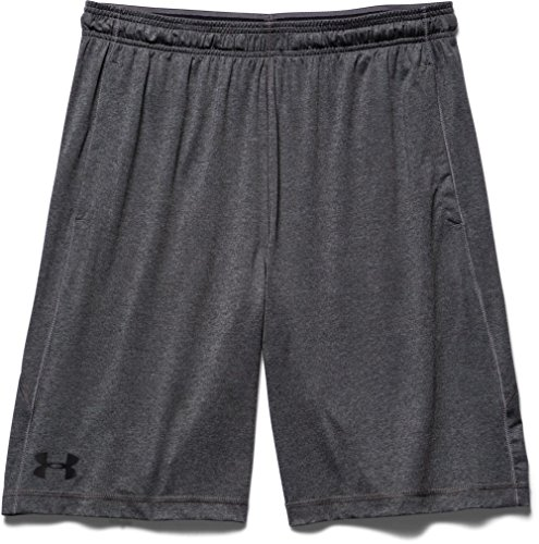 Under Armour, Pantaloni corti Uomo Raid, Grigio (Carbon Heather), S