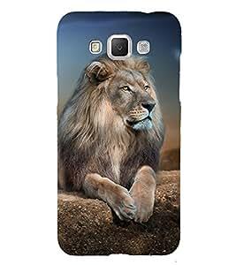 Lion Design Cute Fashion 3D Hard Polycarbonate Designer Back Case Cover for Samsung Galaxy Grand 3 :: Samsung Galaxy Grand Max