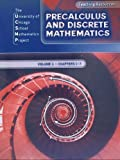 img - for Ucsmp Precalculus and Discrete Mathematics Teaching Resources Volume 1 Chapters 1-7 book / textbook / text book