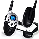 Dog Training Collar With Remote - 8 Levels of Shock and Vibration Correction Plus Sound Mode - Fully Adjustable Electric E Collar With Remote for Large, Medium, and Small Dogs - Best Puppy Training and Dog Obedience Training - Wireless Rechargeable and Waterproof Anti Bark Collar with Range up to 800M Lets You Train 2 Dogs - 100% Satisfaction Best Lifetime Guarantee!