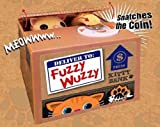 Fuzzy Wuzzy Kitty Mechanical Novelty Coin Bank