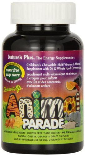 Nature'S Plus Source Of Life Animal Parade Sugar-Free Assorted - 90 - Chewable