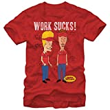 Beavis & Butt-Head: Work Sucks Tee - Guys