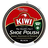 Kiwi Shoe Polish Black (50ml) - Pack of 2