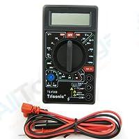 Portable Lcd Digital Multimeter AC DC Voltage Electronic Meter Tester Voltmeter