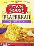 Keebler Town House Flatbread Crisps, Roasted Garlic, 9.5-Ounce