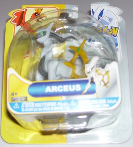 Buy Low Price Jakks Pacific Pokemon Heartgold & Soulsilver Johto Basic Action Figure Arceus (B004GZHMU6)
