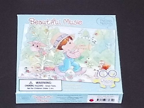 Precious Moments 100 Piece Puzzle ~ Beautiful Music - 1