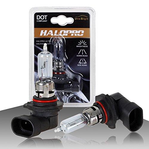 HaloPro High Performance 2pcs 9005 HB3 12V 65W Headlight High Beam / Daytime Running light DRL Halogen Bulb Night White For LEXUS /Mazda /Mitsubishi (2005 Chevy Tahoe Running Lights compare prices)