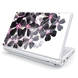Asian Flower Paint Design Skin Cover Decal Sticker for Acer (Aspire ONE) 8.9 inch ZG5 Netbook Laptop Notebook