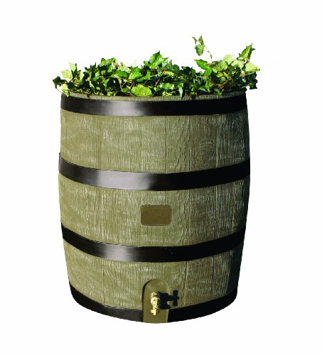 RTS-Home-Accents-Round-35-Gallon-Rain-Barrel-with-Brass-Spigot-and-Built-In-Planter-Woodgrain