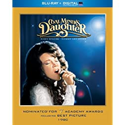 Coal Miner's Daughter (Blu-ray + Digital UltraViolet)