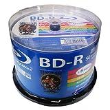磁気研究所 HIDISC MAG-LAB BD-R 1回録画用 130分 25GB 1-6倍速 スピンドルケース 50枚パック ワイド印刷対応 ホワイトレーベル HDBD-R6X50SP