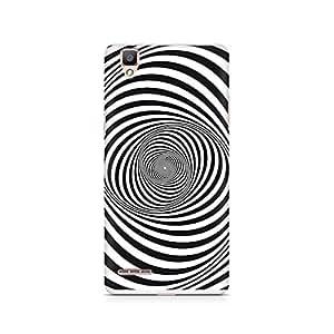 Ebby Revolving Illusion Premium Printed Case For Oppo F1
