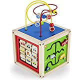 Imagination Generation Wooden Wonders 5-in-1 Deluxe Activity Cube