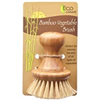 Lola L761 Eco Clean Bamboo And Tampico Vegetable Brush, 3-3/4
