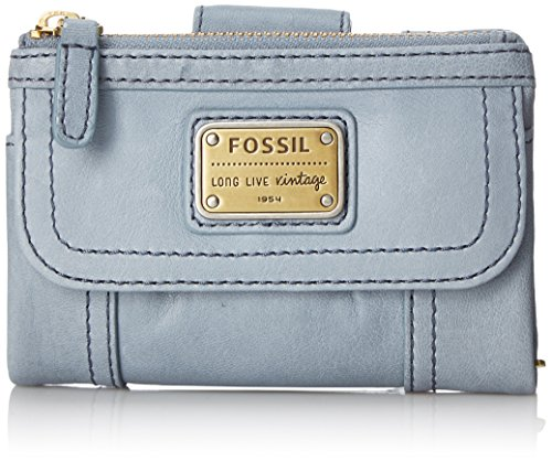 Fossil Emory Multifunction Wallet, Smokey Blue, One Size