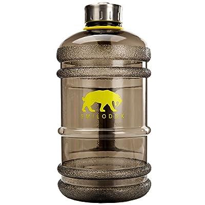 Smilodox Trinkflasche 2,2 Liter Gym Bottle 2.0
