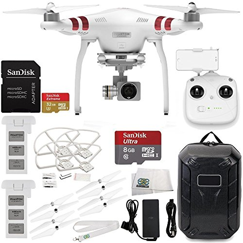 DJI Phantom 3 Standard with 2.7K Camera and 3-Axis Gimbal & Manufacturer...