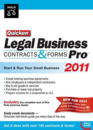Quicken Legal Business Pro 2011 [Download] [OLD VERSION]