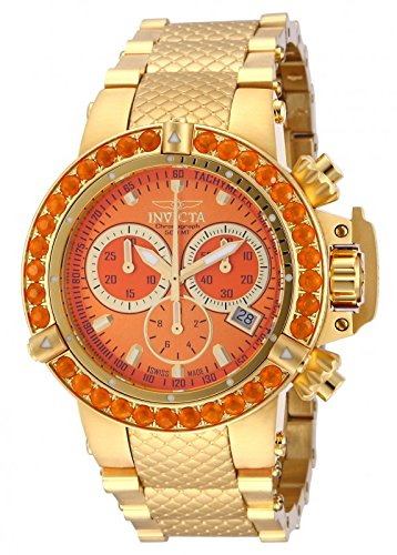 Invicta 14769 Women'S Subaqua Noma Iii Swiss Chronograph Fire Opal Bezel Bracelet Watch