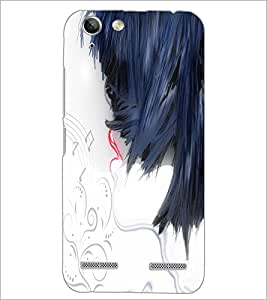PrintDhaba Abstract Image D-4504 Back Case Cover for LENOVO VIBE K5 (Multi-Coloured)