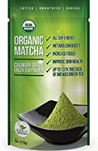 Organic Matcha Green Tea Powder Culinary Grade - Japanese (113grams) - Kiss Me Organics