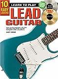 10 Easy Lessons Lead Guitar Bk/CD