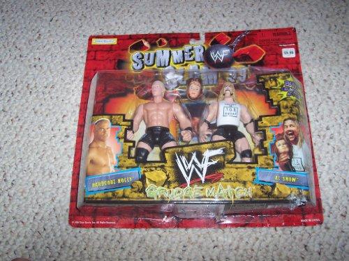 WWF Summer Slam 99 Grudge Match Hardcore Holly vs Al Snow Action Figure Set - 1