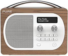 Pure Evoke D4 Portable DAB/FM Radio - Oak