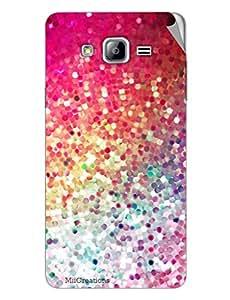 Miicreations Mobile Skin Sticker For Samsung Galaxy On7,Glliter Pattern