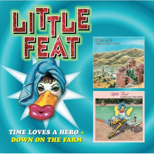 Little Feat REMASTERED 5 CD Box Set In Individual 5X5 Full Color LP Sleeves