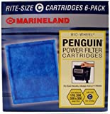 Marineland Penguin Rite-Size C Bio-Wheel 170 and 330 Replacement Filter Cartridge (6-Pack)