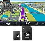 Carte MicroSD/SD 4Go GPS Sygic pour autoradios - Europe de l'Ouest...