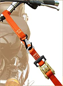 "Keeper 05723 1 1/2"" by 8' Heavy-Duty Motorcycle and ATV Tie Down, Pack of 2 from Keeper"