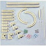 YSTD® Multi-function Craft Yarn 5000-100 Knitting Board Knit & Weave Loom Kit DIY Tool