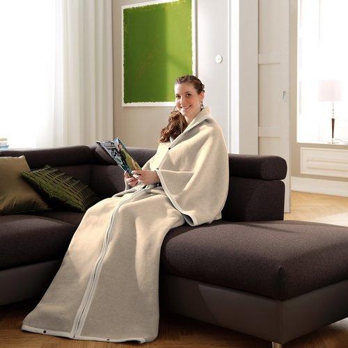 Soggiorni cappotto - Thermo Star - cream - 150 x 180 cm