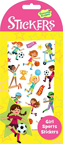 Peaceable Kingdom Girl Sports Sticker Pack
