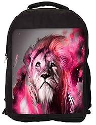 Snoogg God Of The Forest Backpack Rucksack School Travel Unisex Casual Canvas Bag Bookbag Satchel