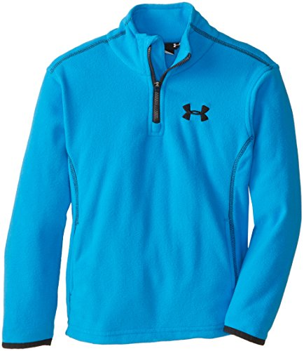 Under Armour Little Boys' Hundo 1/4 Zip,Electric Blue,6