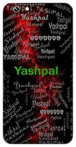 Yashpal (Protector Of Fame) Name & Sign Printed All over customize & Personalized!! Protective back cover for your Smart Phone : Samsung Galaxy A-5