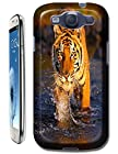 Tiger Case Cover Hard Back Cases Beautiful Nice Cute Animal hot selling cell phone cases for Samsung Galaxy S3 # 18