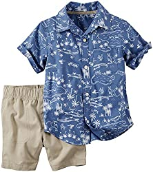 Carter's 2 Piece Playwear Sets 249G130, Print, 4T